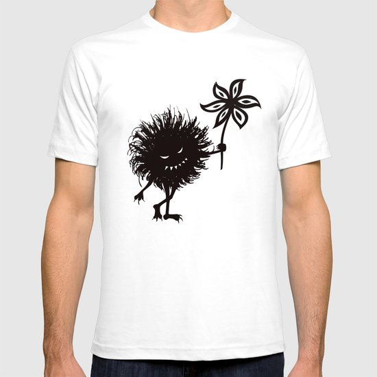 Evil Bug Gives Flower T-shirt