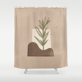 planted Shower Curtain