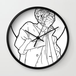 Mineral Woman Wall Clock