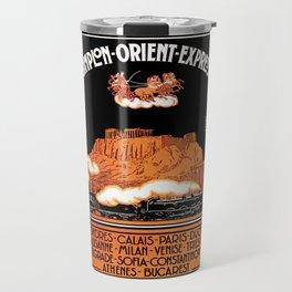 Simplon Orient Express London Athens Travel Mug
