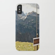 The Bear's Tooth Slim Case iPhone X
