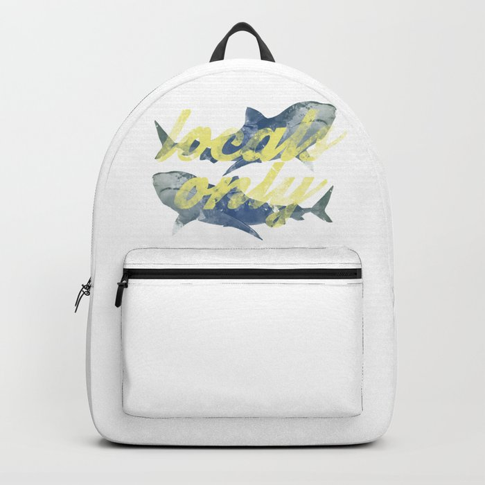 Locals Only Watercolor Backpack