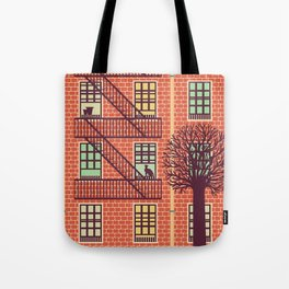 the fly (day) Tote Bag