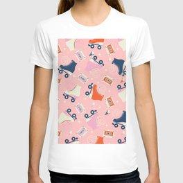 Roller skates 004 T-shirt