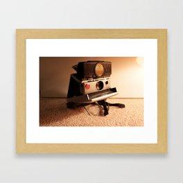 Say Cheese Framed Art Print