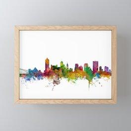 Memphis Tennessee Skyline Framed Mini Art Print
