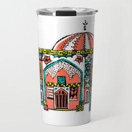 oriental pop art Travel Mug