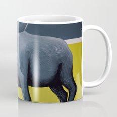 Minimalist Moose Mug