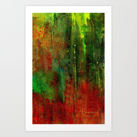 The Red Carpet Art Print