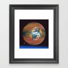 Antigrav Swimming Pool Framed Art Print