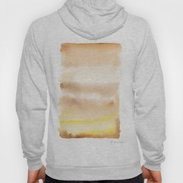 180815 Watercolor Rothko Inspired 2| Colorful Abstract | Modern Watercolor Art Hoody
