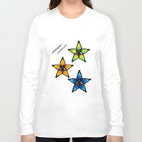 kingdom hearts Long Sleeve T-shirts featuring Kingdom Hearts - Wayfinders by Lunil