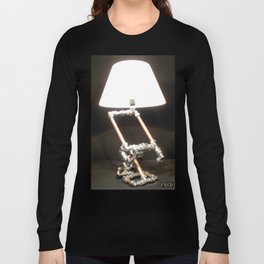 Articulated Desk Lamps - Copper and Chrome Collection - FredPereiraStudios_Page_02 Long Sleeve T-shirt