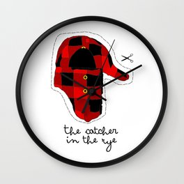 Catcher in the Rye Wall Clock