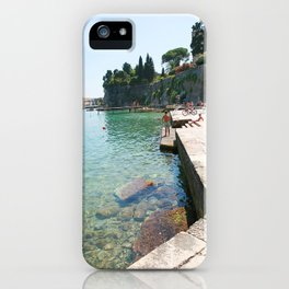 Greece Paradise iPhone Case