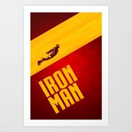 Classic Iron Man Poster Art Print