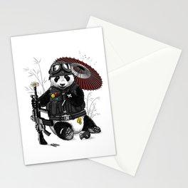 Military Panda Stationery Cards