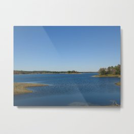 Scituate Reservoir, Rhode Island Photograph #3 by Jeanpaul Ferro Metal Print