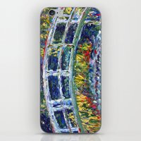 monet iPhone & iPod Skins featuring Monet Interpretation by Britt Miller Art