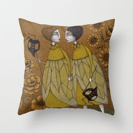 To Save the BEES! Throw Pillow