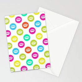 My bright lips Stationery Cards