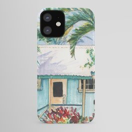 Tropical Vacation Cottage iPhone Case
