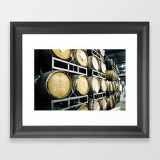 8Wired Brewing Co., Auckland, NZ Framed Art Print