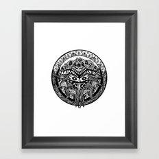 Shamandala Framed Art Print