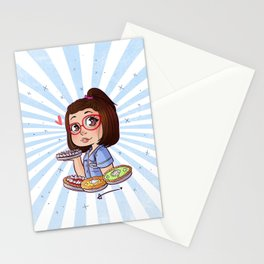 Dawn - Waitress Stationery Cards