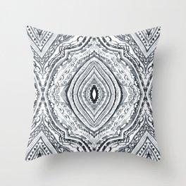 Black & White Diamond Throw Pillow