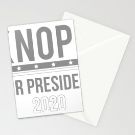 Knope For President Stationery Cards