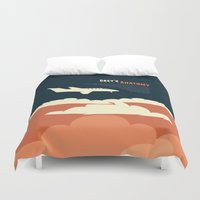flight Duvet Covers featuring Flight by Risa Rodil