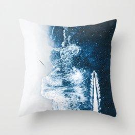 Starry Ocean Night by GEN Z Throw Pillow