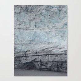 Glacier Close Up Canvas Print