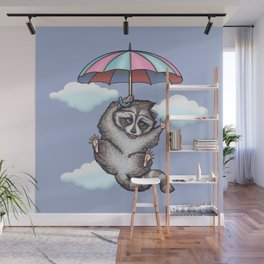 Hurray.....i can fly... Wall Mural