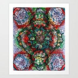 Stain 33 Art Print