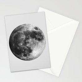 Full Moon Watercolour Art | Minimalism Stationery Cards