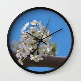 Spring Blossoms - IV Wall Clock