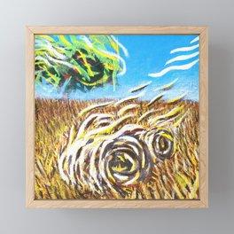 Prairie Landscape - Farm Landscape Framed Mini Art Print