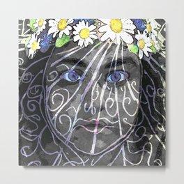Celsa - Flower Power Metal Print