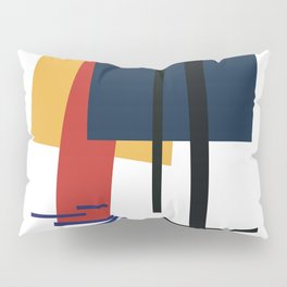 Tribute to K. Malevich (n.1) Pillow Sham