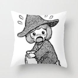 Schierke cute honey design Throw Pillow