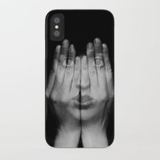 I Can See Through You iPhone X Slim Case