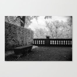 Park Bench II Canvas Print