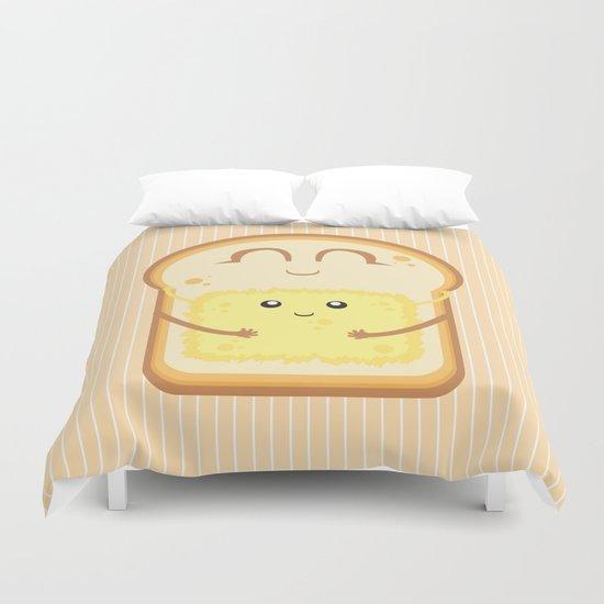 Hug the Butter Duvet Cover