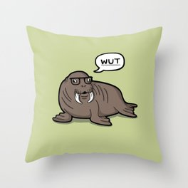 Dorkus Throw Pillow