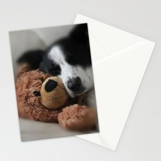 A Dog and his Bear Stationery Cards