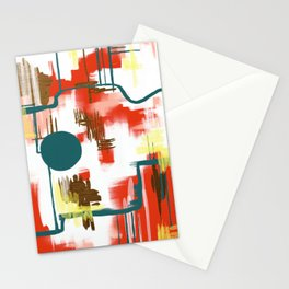 Deco Sun Stationery Cards