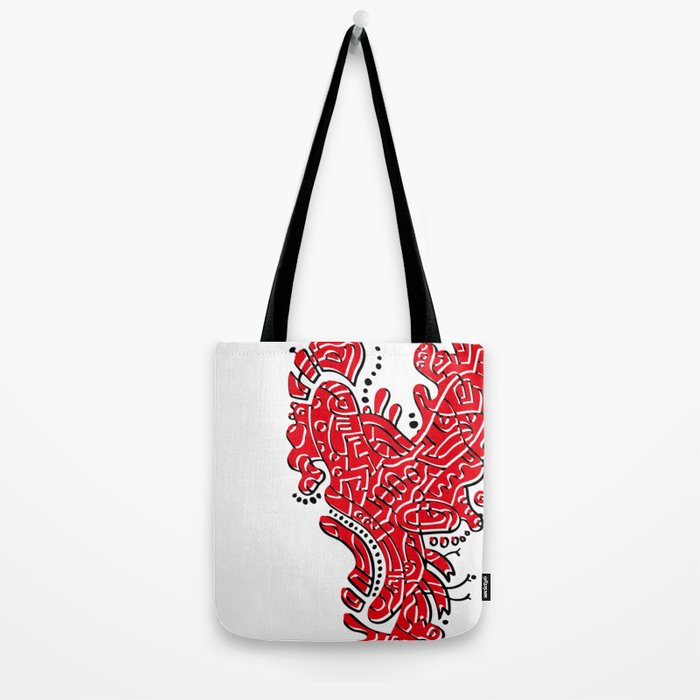 Cell Heart Tote Bag