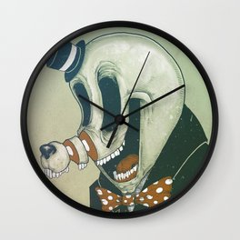 Cut Nose Wall Clock